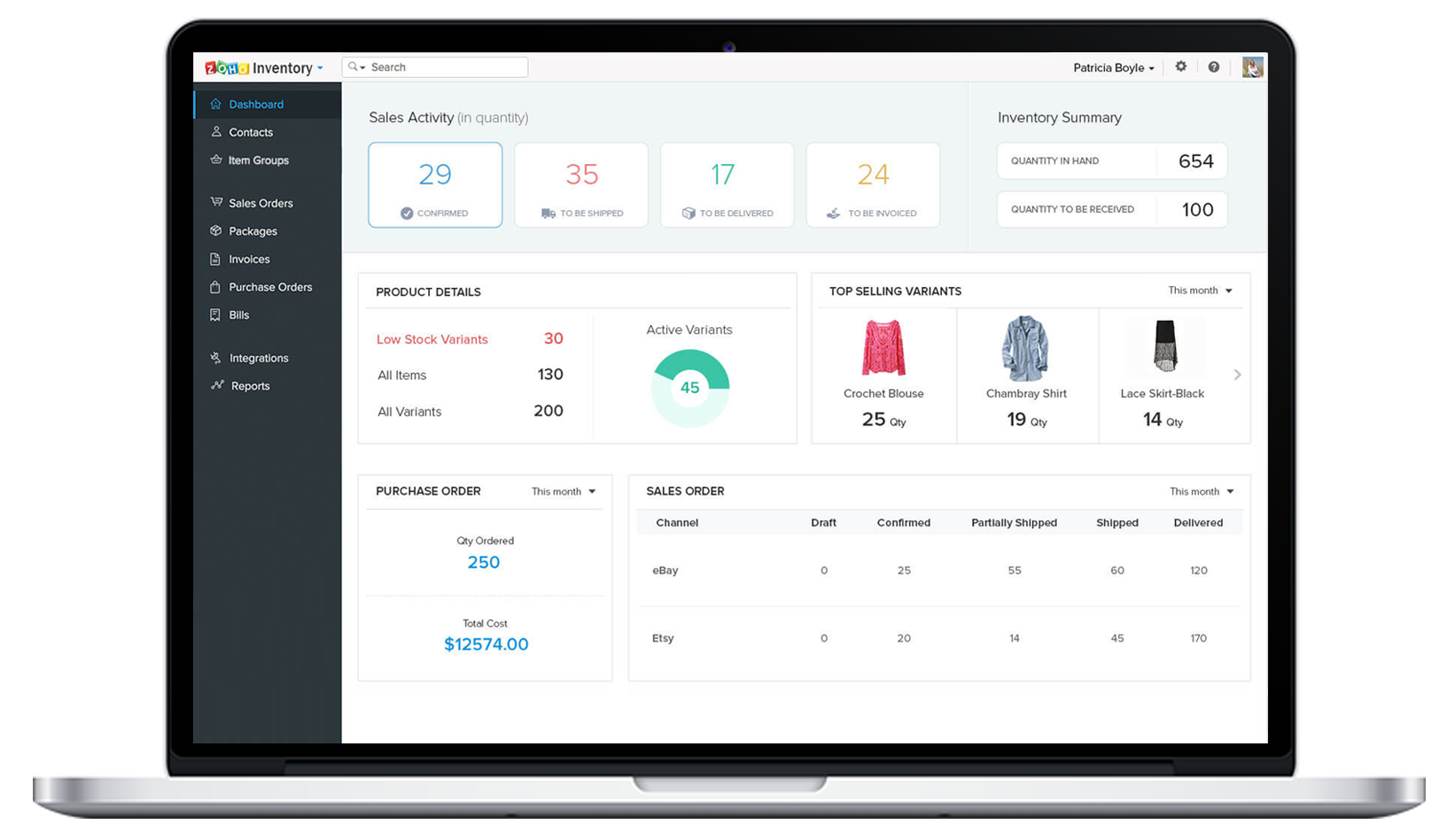 inventory management for ecommerce website