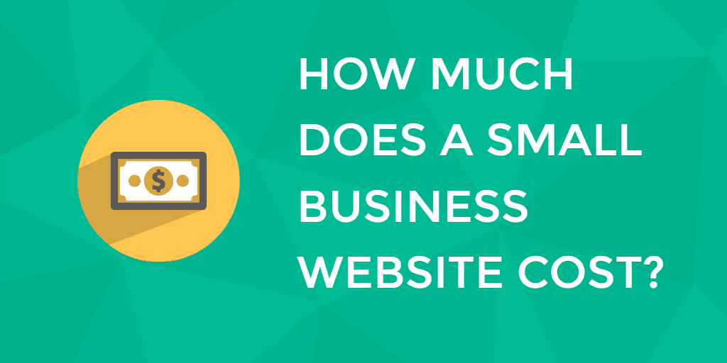 How much does a website cost banner