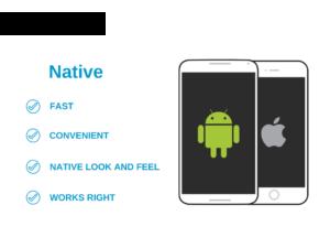 Native app benefits