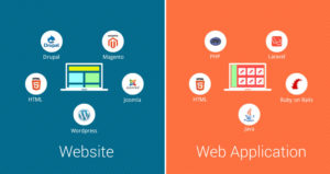 Website vs web app